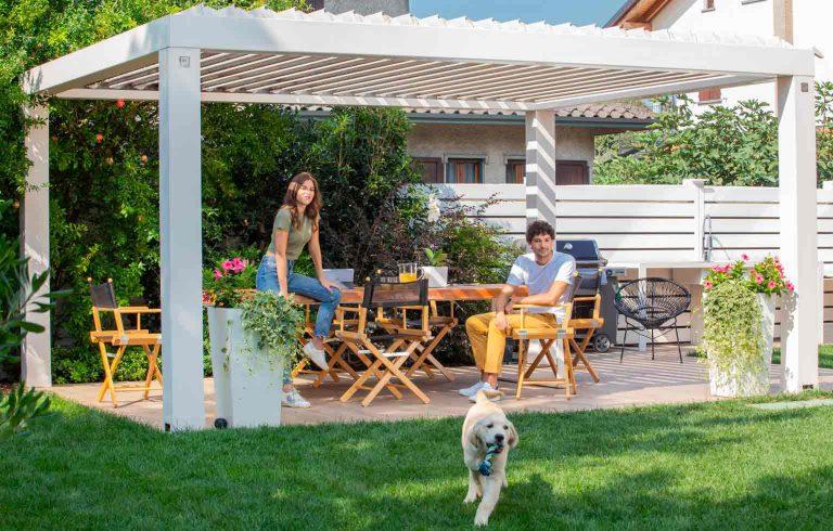 Un outdoor a misura degli animali domestici